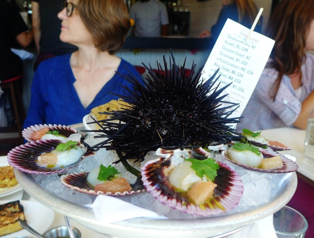 uni and scallops