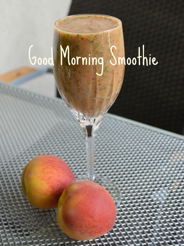 morning smoothie