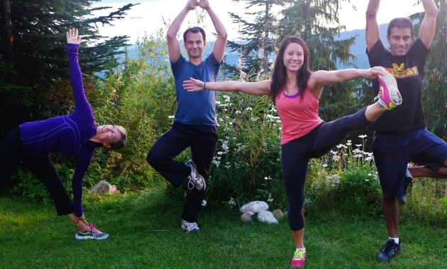 grouse grind yoga